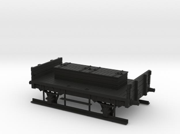 MR/LMS shunter truck with no rails in Black Natural Versatile Plastic