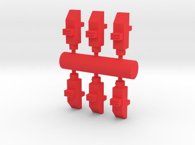 Deranged BB release in Red Processed Versatile Plastic