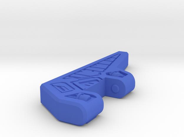 Titans Returns Fortress Maximus Left Antennae in Blue Processed Versatile Plastic