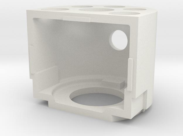 Neilson Firebox printed lower in White Natural Versatile Plastic