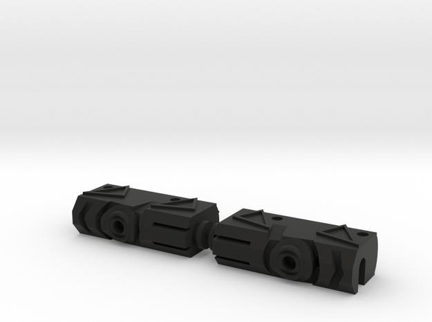 Funky Meg Legs 3.0 in Black Natural Versatile Plastic