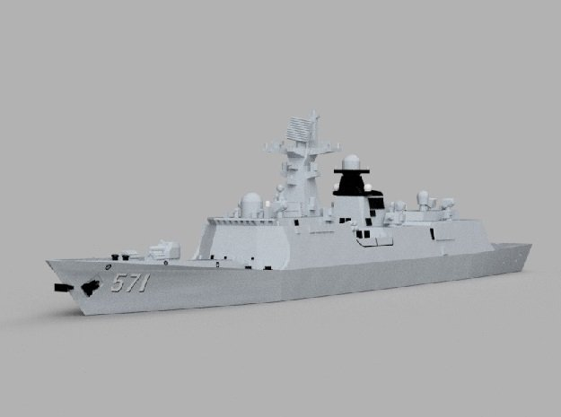 1/1800 CNS Yuncheng in Smooth Fine Detail Plastic