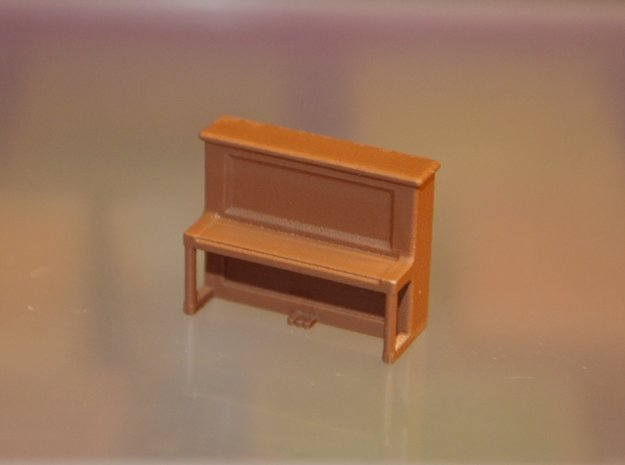 HO-Scale Pamie's Piano in Smooth Fine Detail Plastic