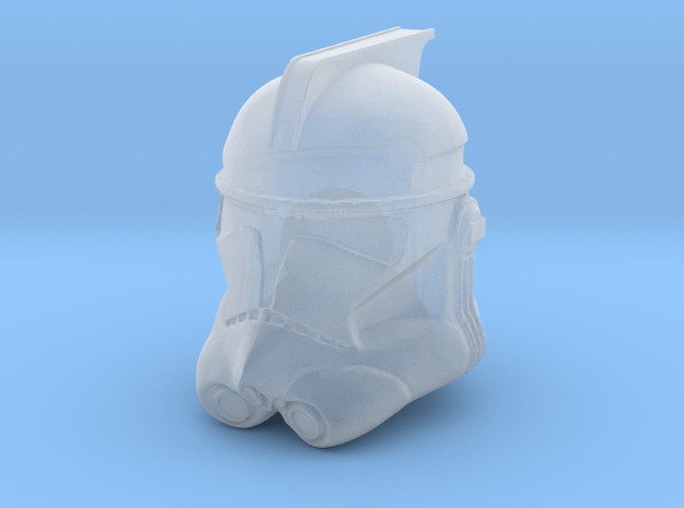 """ARC trooper phase II helmet for 6"""" in Smooth Fine Detail Plastic"""