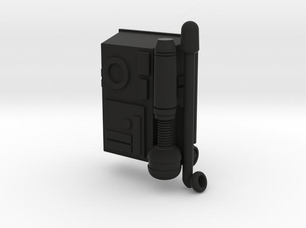 ARC trooper backpack for 6 inch figures in Black Natural Versatile Plastic