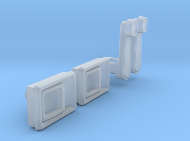 048001-03Toyota Hilux/Bruiser DoorPanel Parts in Smooth Fine Detail Plastic