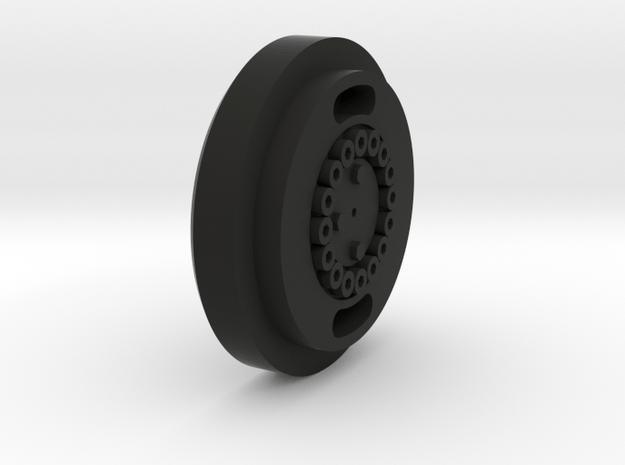 PB600_SternradEinsatz in Black Natural Versatile Plastic
