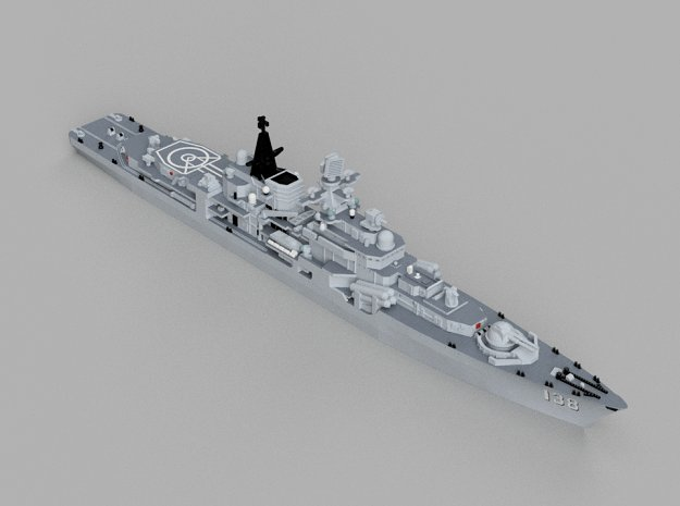 1/1250 CNS Taizhou in Smooth Fine Detail Plastic