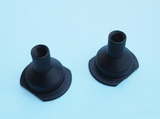 Lancia Fulvia cone funnel in White Processed Versatile Plastic