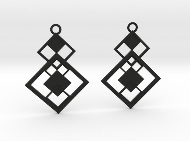 Geometrical earrings no.7