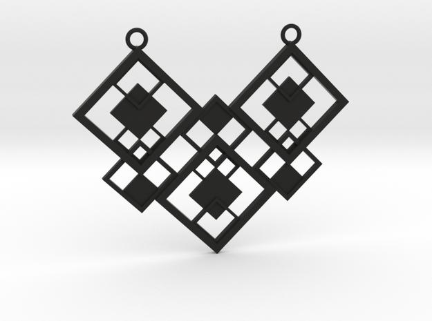 Geometrical necklace no.2