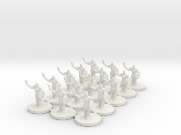 Game of Thrones Risk Pieces - Braavos in White Natural Versatile Plastic