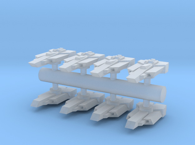 8 Aggressor torpedo bombers in Smooth Fine Detail Plastic