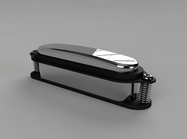 tele to strat pickup adapter in Black Natural Versatile Plastic