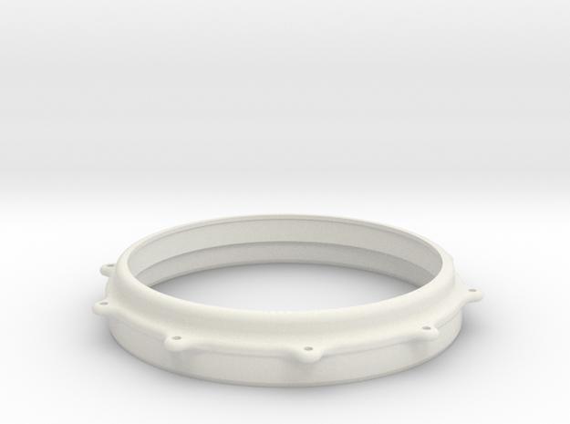 FLOOR TOM HOOP V2 in White Natural Versatile Plastic
