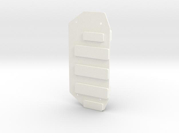 Invencer Battery Box RH in White Processed Versatile Plastic