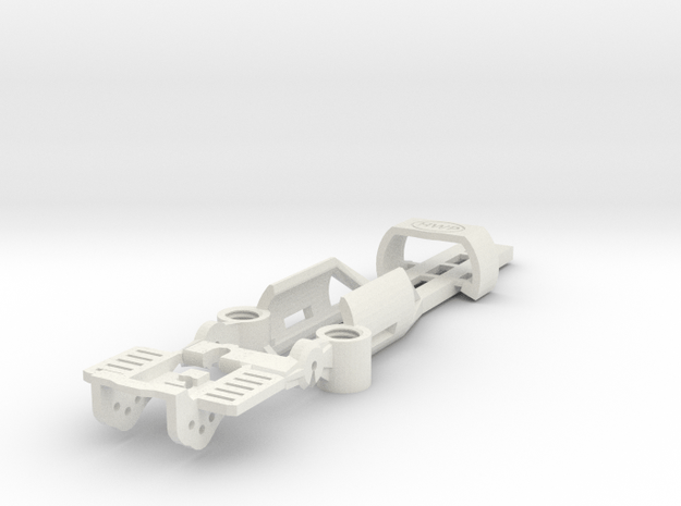 NEW! SL2-BW-Mk1 Tunable Mag Chassis in White Natural Versatile Plastic