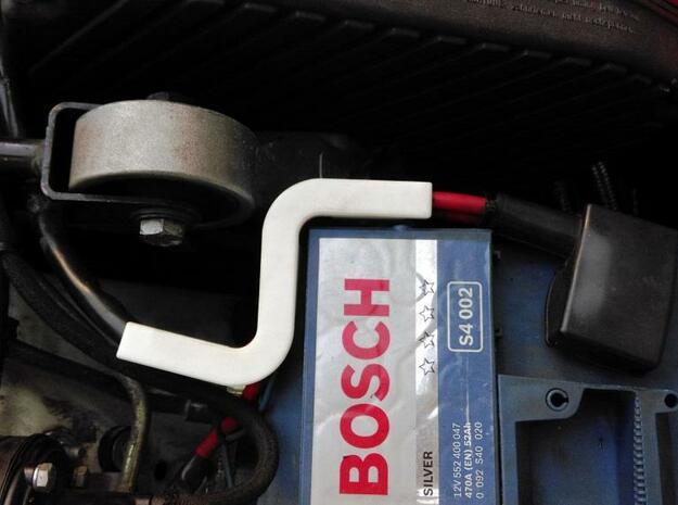 Lancia Delta Integrale battery pol S in White Processed Versatile Plastic