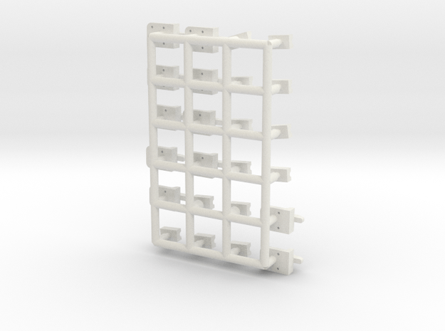 Misc boxcar part in White Natural Versatile Plastic