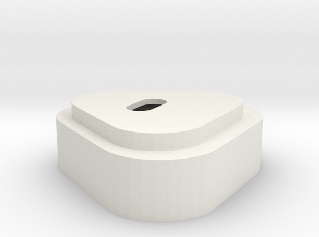 Batteriedeckel LiIon V  in White Natural Versatile Plastic