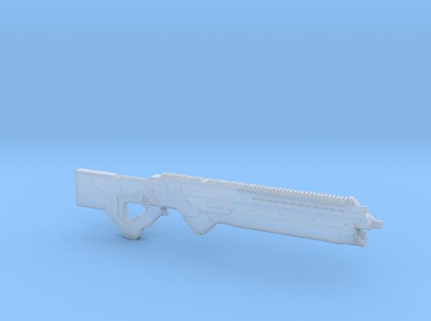 cyberpunk - near future carbine in 1/6 scale in Smooth Fine Detail Plastic