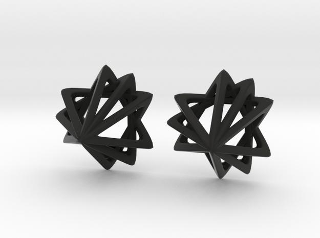 Tri 9 in Black Natural Versatile Plastic