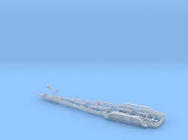 1/48 Myco Trailer - speedboat trailer in Smooth Fine Detail Plastic