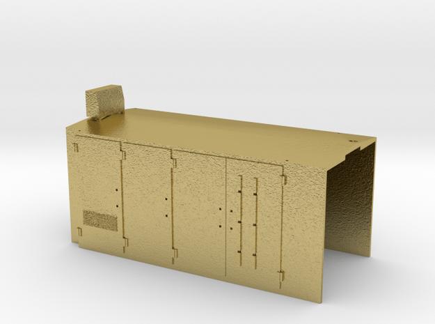 DSJ4004 hooduntitled in Natural Brass
