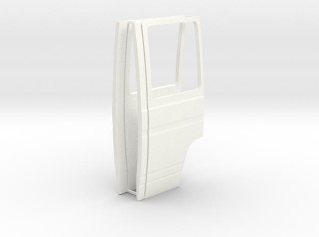 Mercedes Benz Dusseldorfer front doors 1/24 in White Processed Versatile Plastic