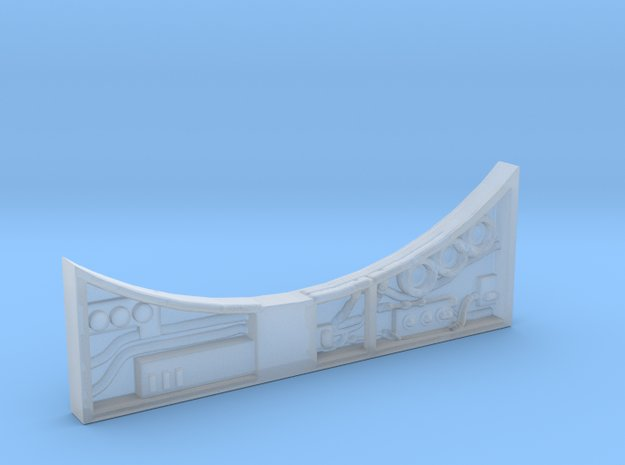 Sidewall Pit for DeAgo Falcon in Smooth Fine Detail Plastic