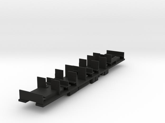 Fahrwerk für Beiwagen S-Bahn Berlin BR 270 in Black Natural Versatile Plastic
