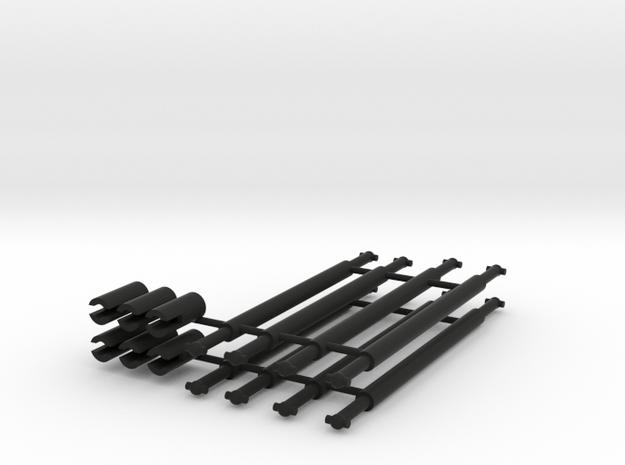 Kardanwelle und Kardanschalen für S-Bahn BR 270 in Black Natural Versatile Plastic