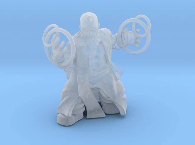 Dwarf Sorcerer in Smooth Fine Detail Plastic