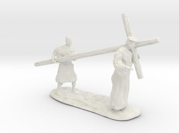 Nazarene religious figure in White Natural Versatile Plastic