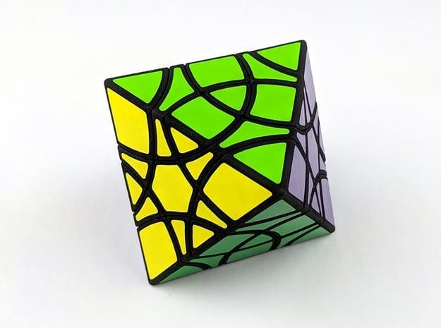 Diamond Duet Puzzle in White Natural Versatile Plastic
