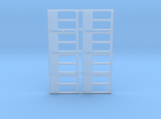 Schwenktüren für KT4D Herrmann und Partner 1:87 in Smooth Fine Detail Plastic