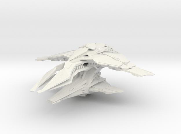 Elachi Sheshar Dreadnought in White Natural Versatile Plastic