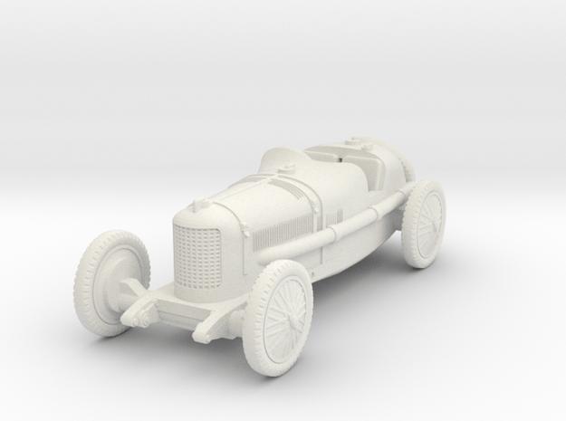 1/72 Alfa Romeo P2 Bauletto in White Natural Versatile Plastic