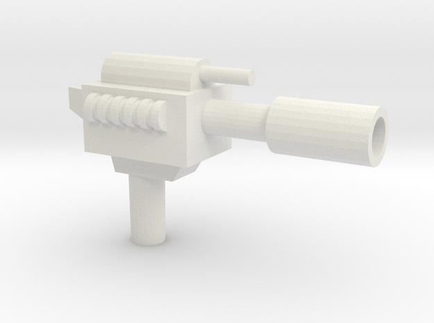 Lashlayer Blaster in White Natural Versatile Plastic