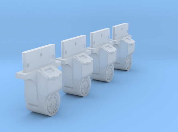 AB05 - LNWR Axlebox for FR wagons (SM32) in Smooth Fine Detail Plastic