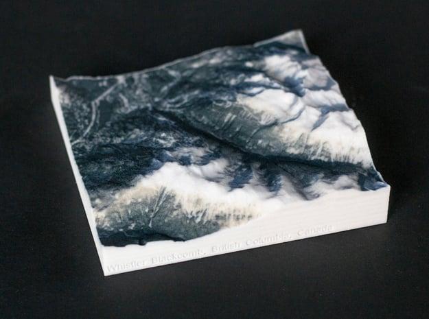 Whistler Blackcomb, BC, Canada, 1:100000 in Full Color Sandstone