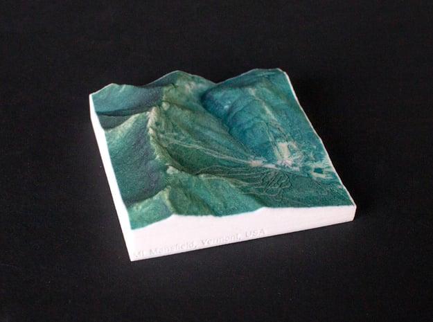 Mt. Mansfield, Vermont, USA, 1:50000 Explorer in Full Color Sandstone