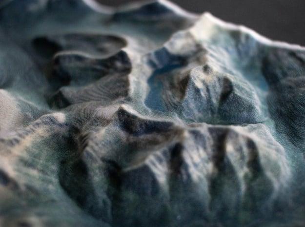 Glacier NP, Montana, USA, 1:150000 Explorer in Full Color Sandstone