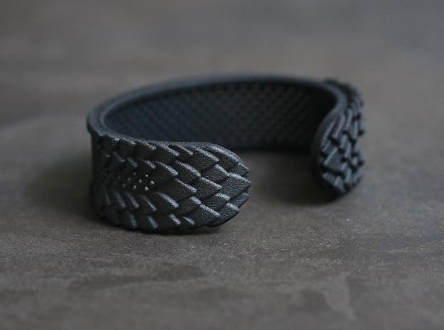 Black Dragon Bracelet in Black Premium Versatile Plastic