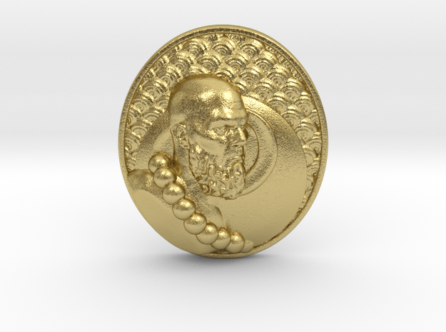 Journey To The West (Monk) in Natural Brass