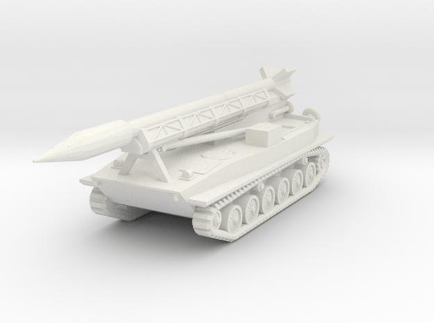 1/72 Frog 3 (2K6 Luna) missile complex in White Natural Versatile Plastic