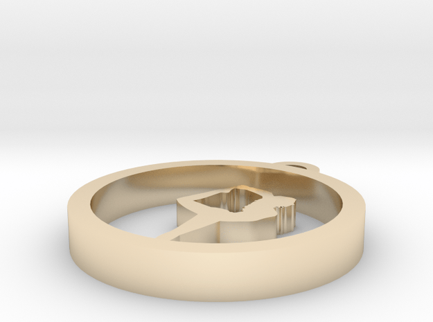 021yoga in 14k Gold Plated Brass