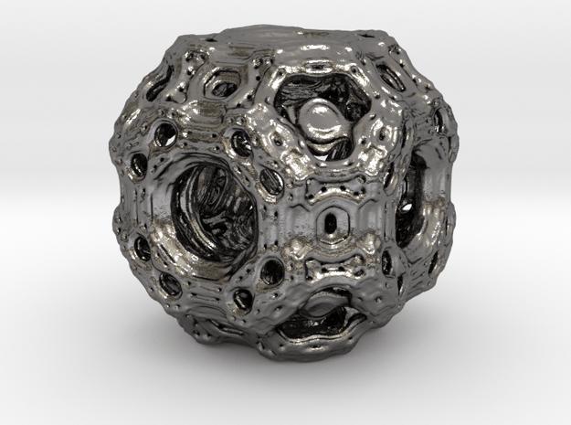 Qube.01 in Polished Nickel Steel