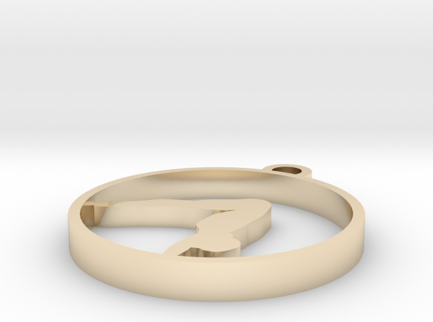 012yoga in 14k Gold Plated Brass
