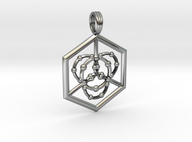 TRINITY PRIME in Antique Silver